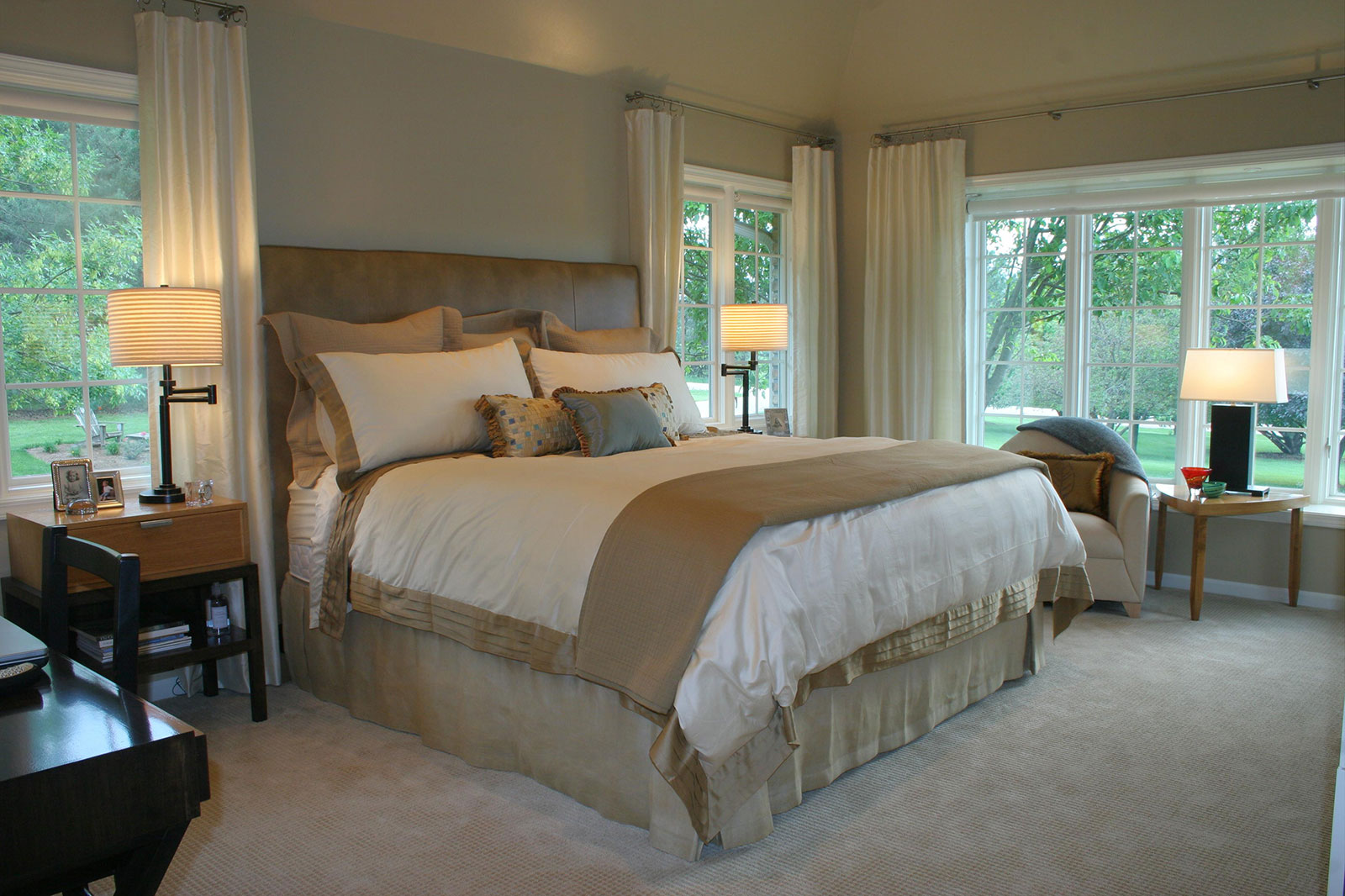 Design Works A Luxury Interior Design Firm At Lincoln In Nebraska,Bedroom Designs Indian Style